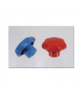 KNOB RED M2-6-09-R+B REFCO