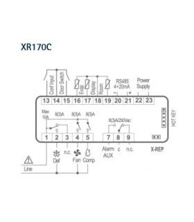 CONTROLER XR170C 12V/8A