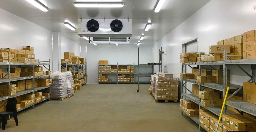 Camere frigorifice pastrare produse din peste