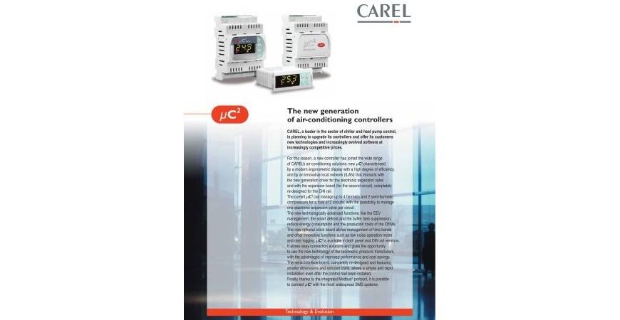 Catalog produse CAREL-Software selectie produse CAREL-Documentatii CAREL