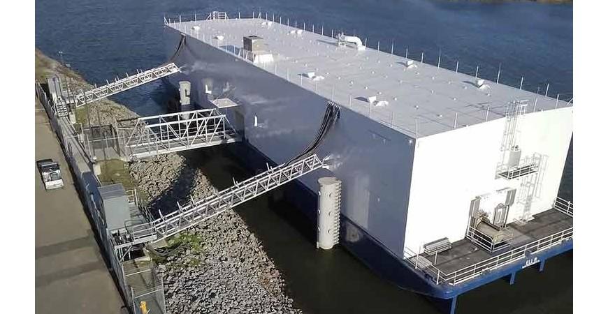 Centrul de date răcit folosind apa râului